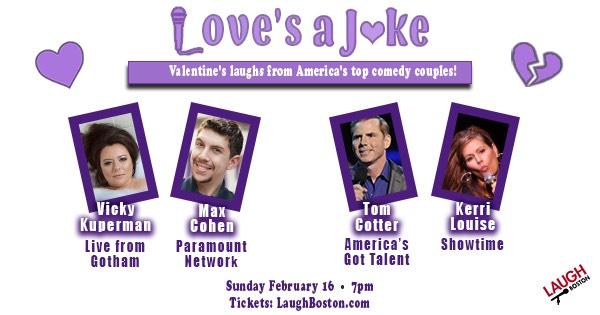 Love's A Joke Feb 16